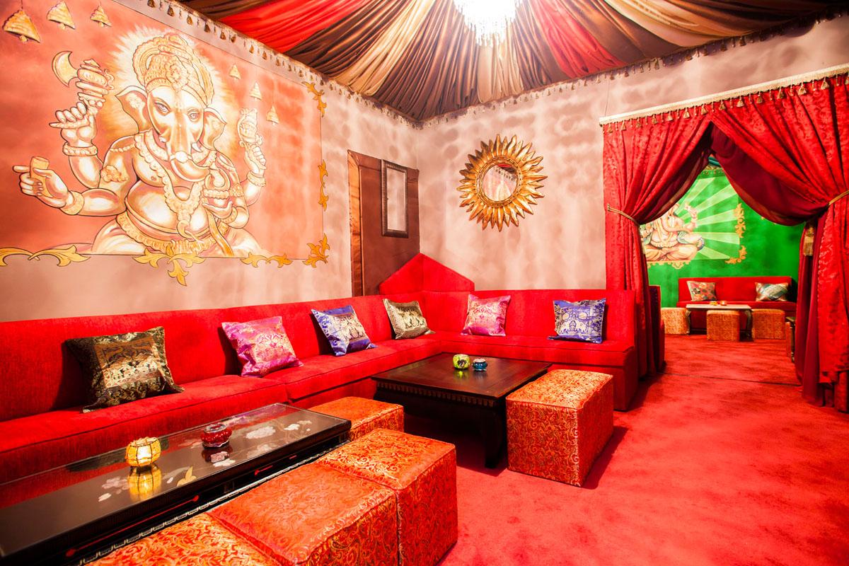 Poze din Interiorul restaurantului Ganesha - #14